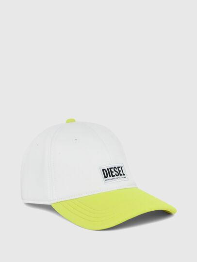 Diesel - DURBO, Blanc/Jaune - Chapeaux - Image 1