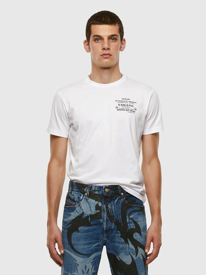 Diesel - T-DIEGOS-X44, Blanc - T-Shirts - Image 5