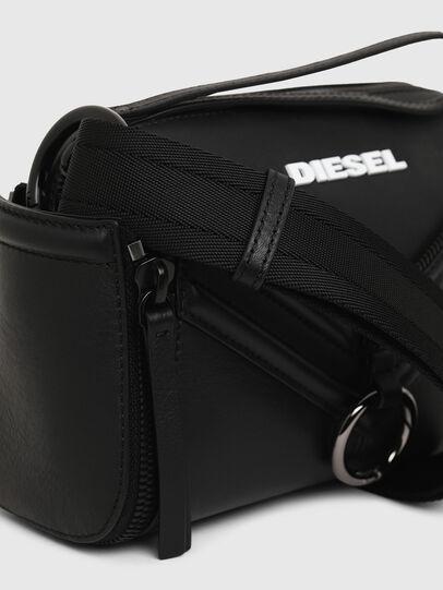 Diesel - LE-ZIPPER CROSSBODY, Noir - Sacs en bandoulière - Image 6