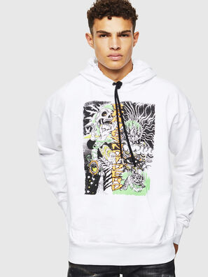 S-ALBY-D1, Blanc - Pull Cotton