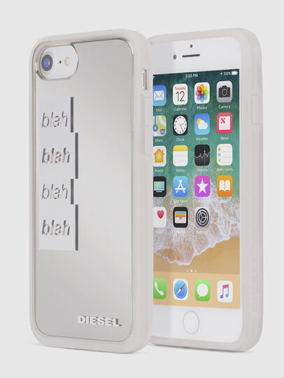Diesel - BLAH BLAH BLAH IPHONE 8/7/6s/6 CASE, Blanc - Coques - Image 1