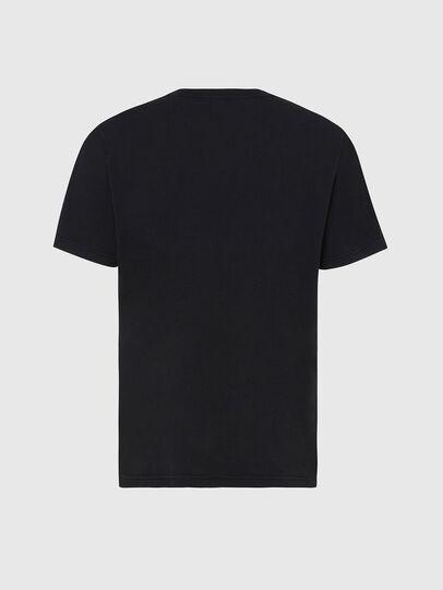 Diesel - T-JUBIND-SLITS, Noir - T-Shirts - Image 2