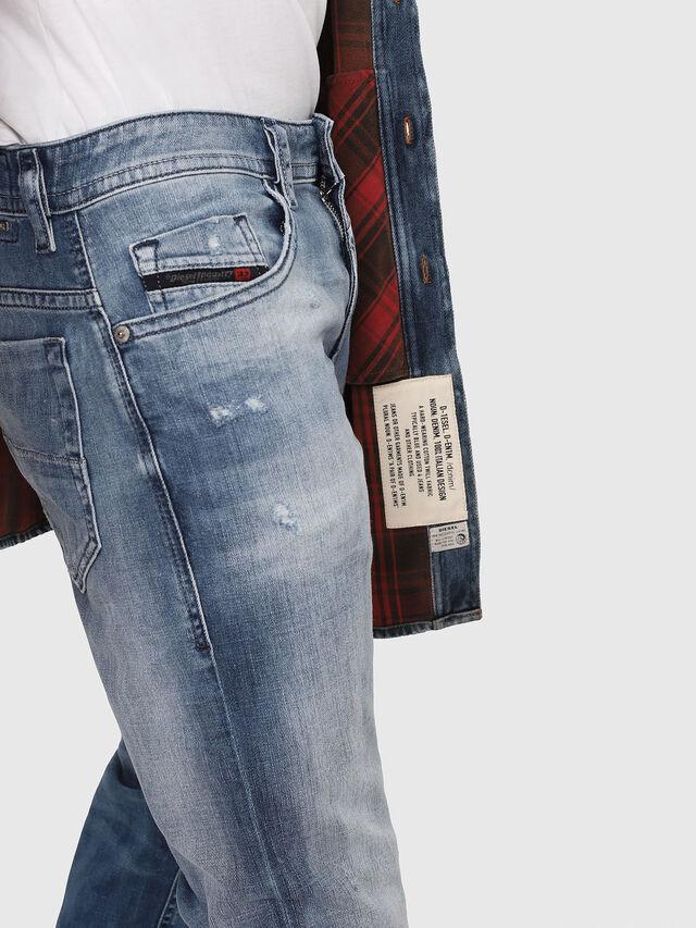 Diesel - Thommer 081AS, Bleu moyen - Jeans - Image 4
