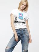 T-GODIE, Blanc - T-Shirts
