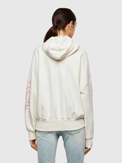 Diesel - F-MAGDALENA-A2, Blanc - Pull Cotton - Image 2