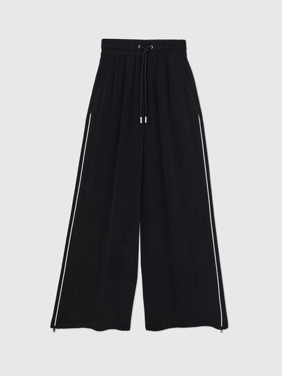 Diesel - P-CHINILLE-WOV, Noir - Pantalons - Image 1