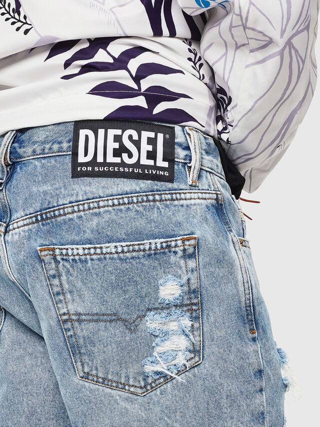 Diesel - D-KIRM, Jean Bleu - Shorts - Image 4