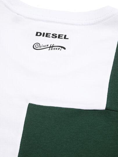 Diesel - D-FRANKENSTEIN 2.1, Blanc/Vert - T-Shirts - Image 5