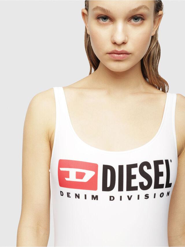 Diesel BFSW-FLAMNEW, Blanc Lumineux - Maillots de Bain - Image 3