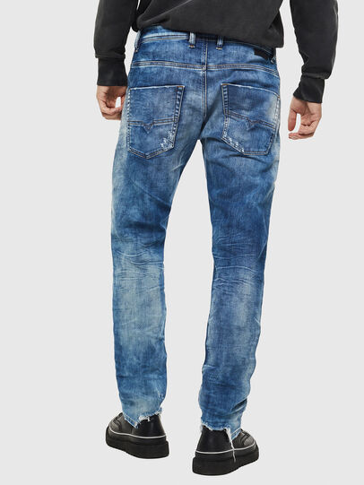 Diesel - Krooley JoggJeans 087AC, Bleu moyen - Jeans - Image 2