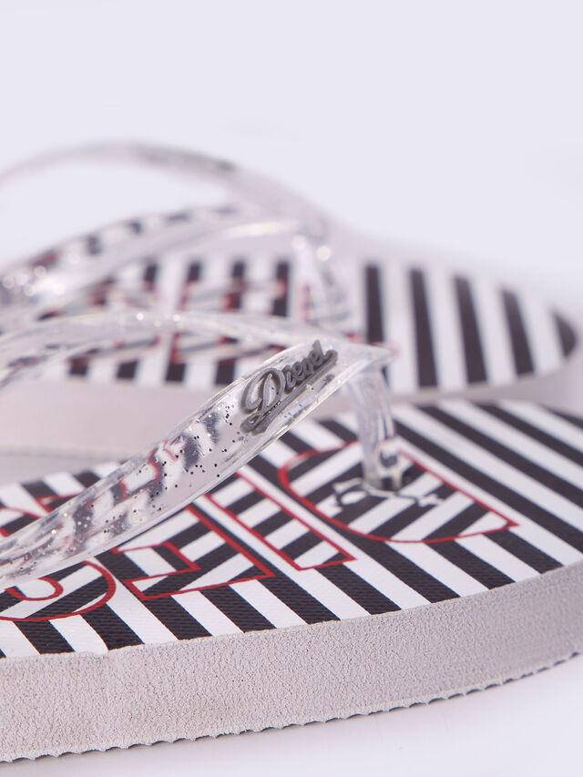 FF 12 STRIPE YO, Noir/Blanc