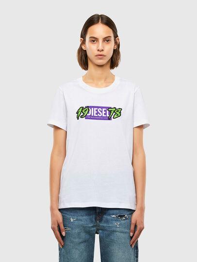 Diesel - T-SILY-K4, Blanc - T-Shirts - Image 1