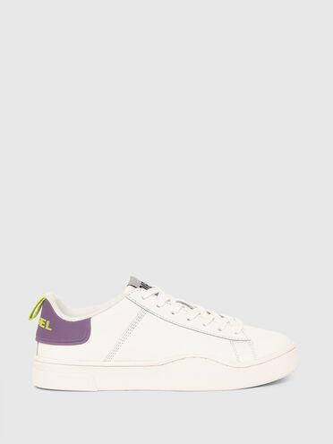 Sneakers basses en cuir