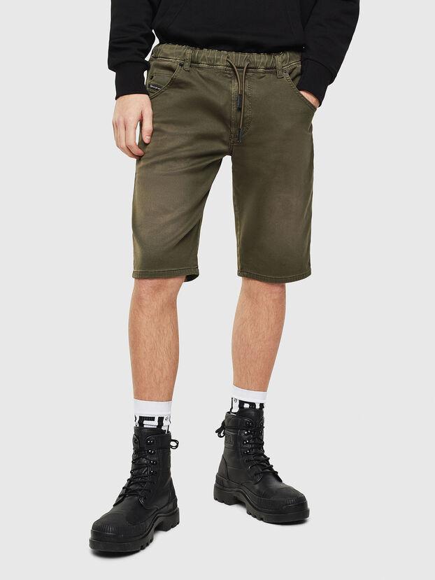 D-KROOSHORT JOGGJEANS, Vert Olive - Shorts