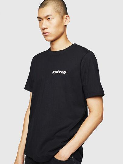 Diesel - T-JUST-B31, Noir - T-Shirts - Image 1