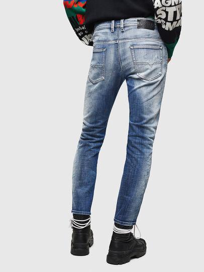 Diesel - Thommer JoggJeans 0870N, Bleu moyen - Jeans - Image 2