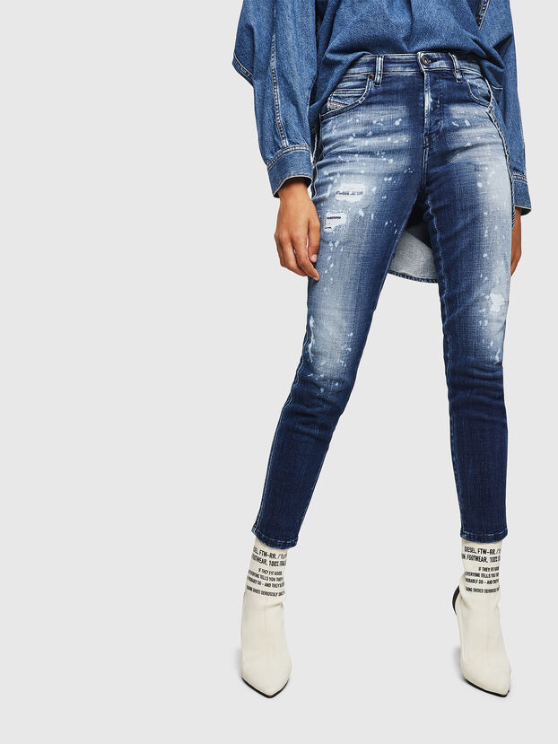 Babhila 0091Y, Bleu moyen - Jeans