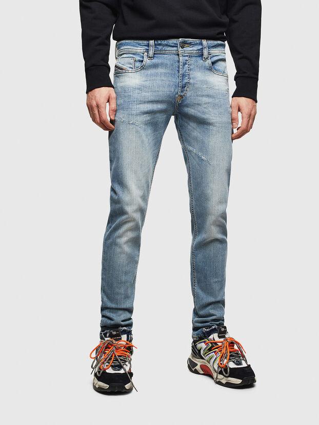 Sleenker CN057, Bleu Clair - Jeans