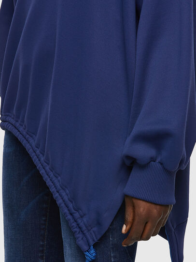 Diesel - F-JUSTINA, Bleu Foncé - Pull Cotton - Image 3