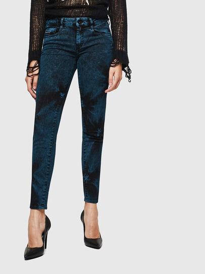 Diesel - D-Ollies JoggJeans 084AF, Noir/Gris foncé - Jeans - Image 1