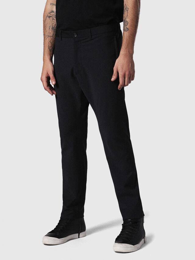 Diesel - P-OLIVERY, Noir - Pantalons - Image 1