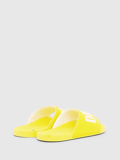 Diesel - FF 01 SLIPPER CH, Jaune - Footwear - Image 2