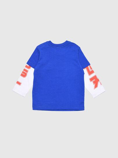 Diesel - TUCOB, Bleu/Blanc - T-shirts et Hauts - Image 2