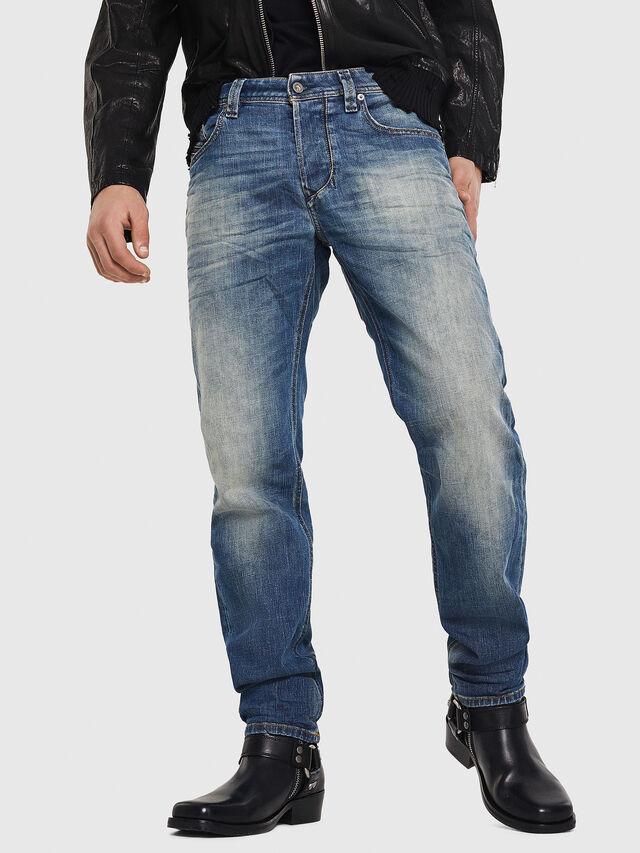 Diesel - Larkee-Beex 089AR, Bleu Foncé - Jeans - Image 1