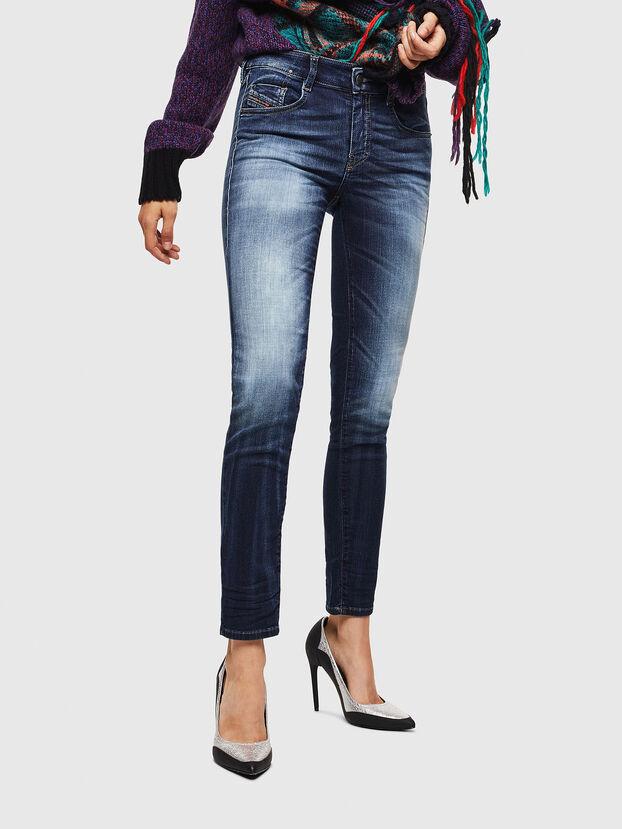D-Ollies JoggJeans 069IE, Bleu Foncé - Jeans