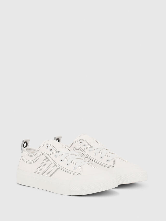 Diesel - S-ASTICO LOW LACE W, Blanc - Baskets - Image 2