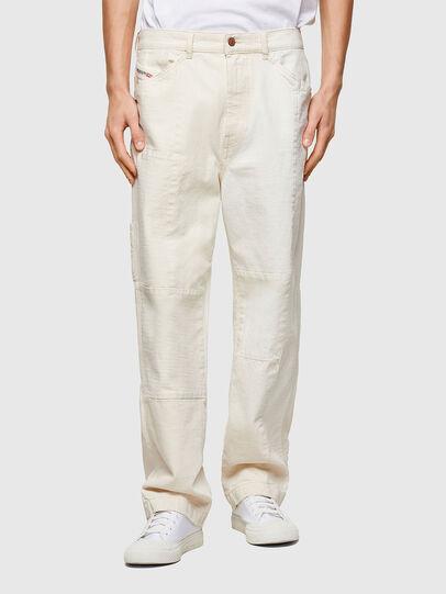Diesel - D-FRAN-SP1, Blanc - Pantalons - Image 1
