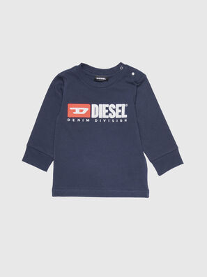 TJUSTDIVISIONB ML, Bleu Foncé - T-shirts et Hauts