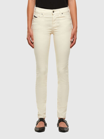 Diesel - D-Roisin 0096H, Blanc - Jeans - Image 1
