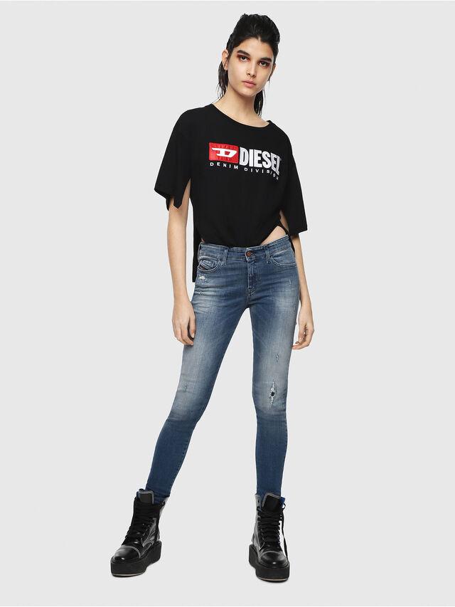Diesel - Slandy 084MU, Bleu moyen - Jeans - Image 4