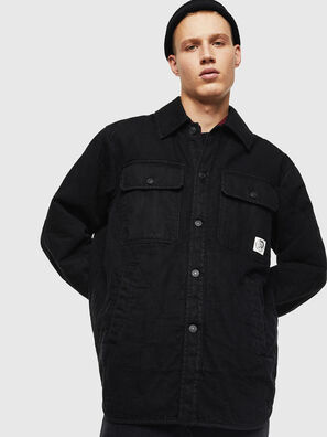 D-WELLES, Noir - Chemises en Denim