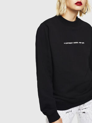 F-ANG-COPY, Noir - Pull Cotton