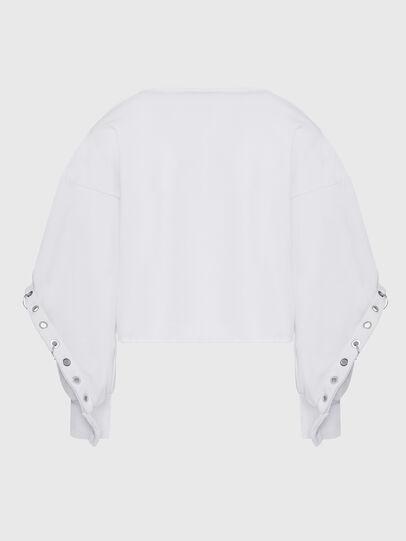 Diesel - F-OLL, Blanc - Pull Cotton - Image 2