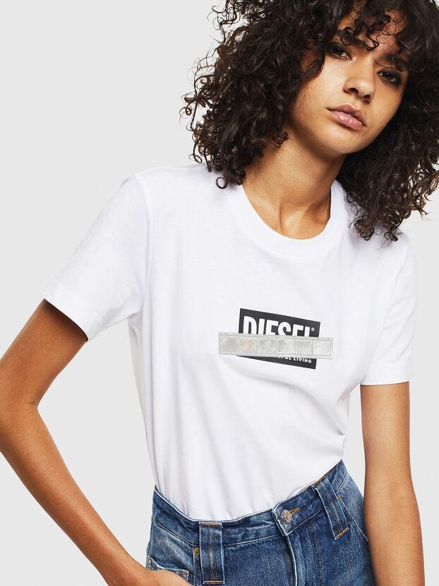 T-SILY-S2, Blanc - T-Shirts