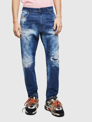 Narrot JoggJeans 0099S, Bleu Foncé - Jeans