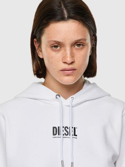 Diesel - F-ANGS-H-ECOSMALLOGO, Noir/Blanc - Pull Cotton - Image 3