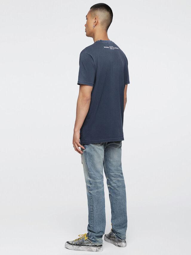 Diesel - T-KEITHS, Bleu - T-Shirts - Image 4
