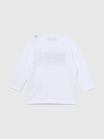 Diesel - TJUSTLOGOB ML-R, Blanc - T-shirts et Hauts - Image 2