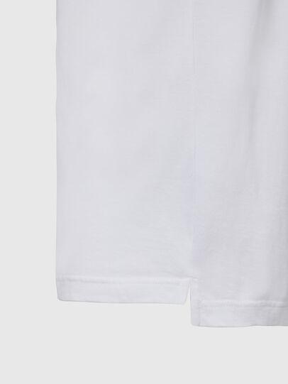 Diesel - T-JUST-SLITS-X85, Blanc - T-Shirts - Image 4