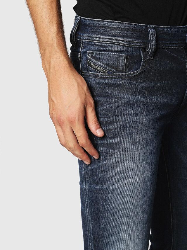 Diesel - Sleenker 084JM, Bleu Foncé - Jeans - Image 3