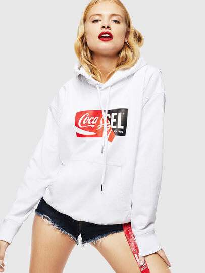 Diesel - CC-S-ALBY-COLA, Blanc - Pull Cotton - Image 2