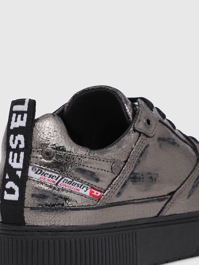 Diesel - S-DANNY LC II W, Gris argenté/Noir - Baskets - Image 4