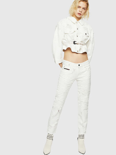 Diesel - D-Rifty 069GY, Blanc - Jeans - Image 7