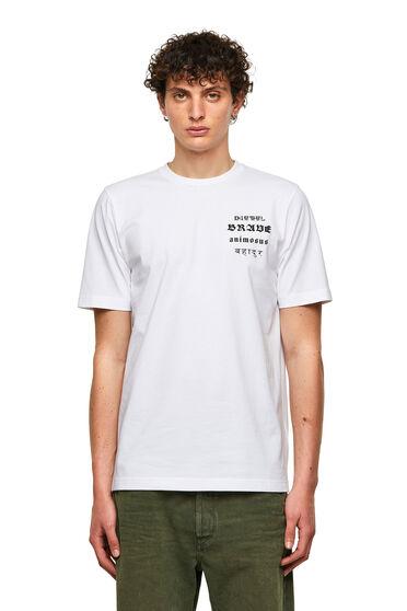 T-shirt Green Label avec imprimé Brave