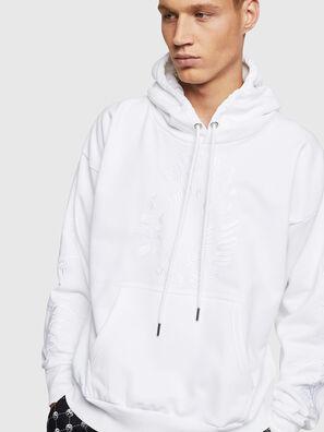 S-ALBY-B5, Blanc - Pull Cotton