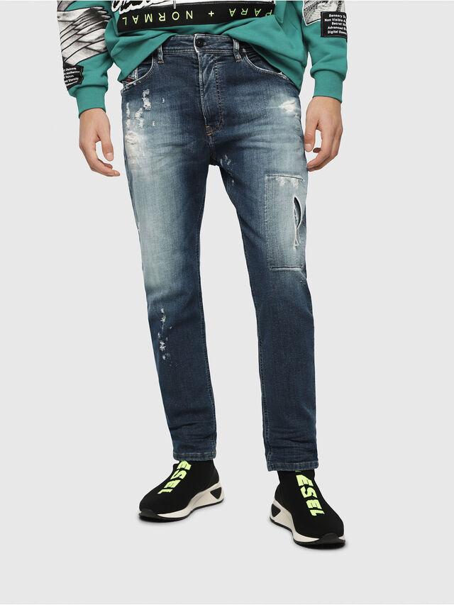 Diesel - Narrot JoggJeans 087AK, Bleu Foncé - Jeans - Image 1